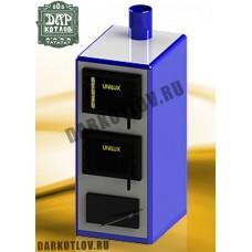 Угольный (твердотопливный) котёл  Unilux КУВ-12  на 12 кВт (с кожухом)